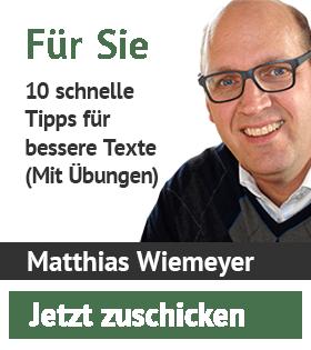 10 tipps fuer bessere texte